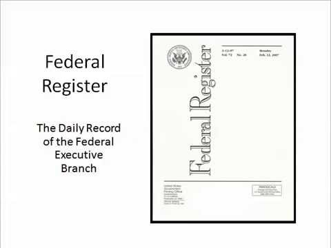 Federal Register (2014)
