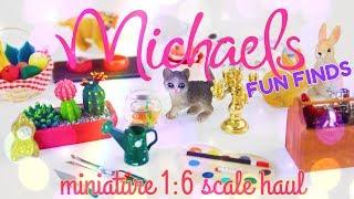 Unbox Daily: Michael's Miniature Haul Fun Finds