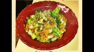 Italian Chicken Vegetable Stir-fry: Nourishing Beauty Episode V