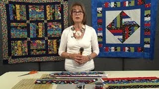 Quick-Strip Children's Quilt with Valerie Nesbitt (Taster Video)