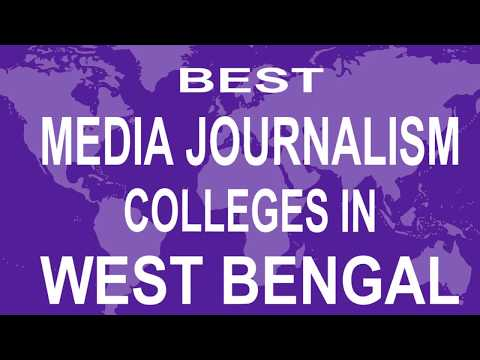 Best Media Journalism Colleges And Courses  In West Bengal
