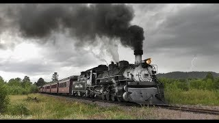 K-36 Mikados on the Cumbres and Toltec Scenic Railroad  4K