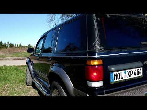 Ford Explorer V6 OHV, Sidepipes & nice sound