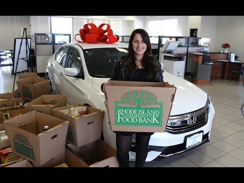 Honda dealers rhode island community food bank 2015 for Honda dealerships in ri