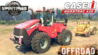 spintires case ih quadtrac 620 tractor off road test
