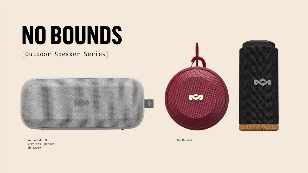Marley No Bounds Portable Bluetooth Audio System