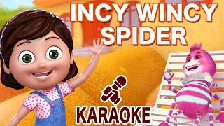 Incy Wincy Spider - Karaoke | Nursery Rhymes from jugnu Kids