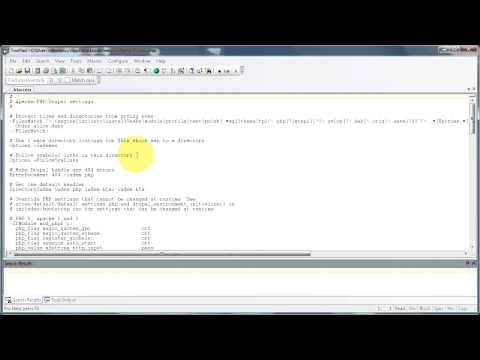 Aktivering av rene URL-er i Drupal 7