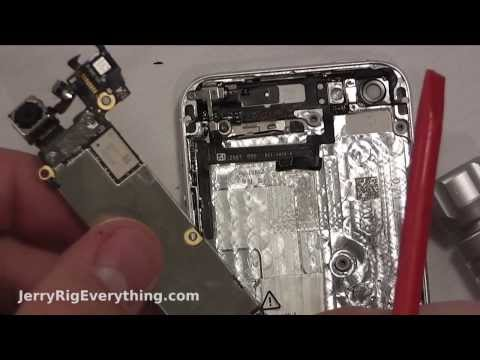 iPhone 5 WiFi Antenna Fix in 4 Minutes - JerryRigEverything