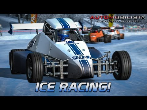 Ice Racing! | Automobilista Beta [GER] [HD] Formula Dirt Super @ Buskerud Ice