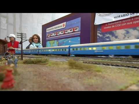 La Bala Nogales-Guadalajara En la maqueta modular de Buenavista CDMX