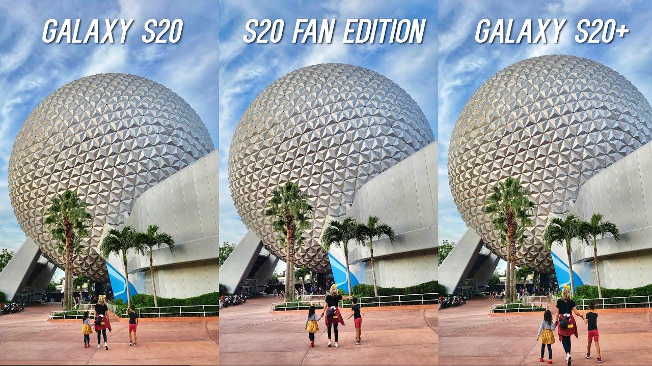 Samsung Galaxy S20 FE vs S20 Plus vs S20 Full Comparison with Camera Test!