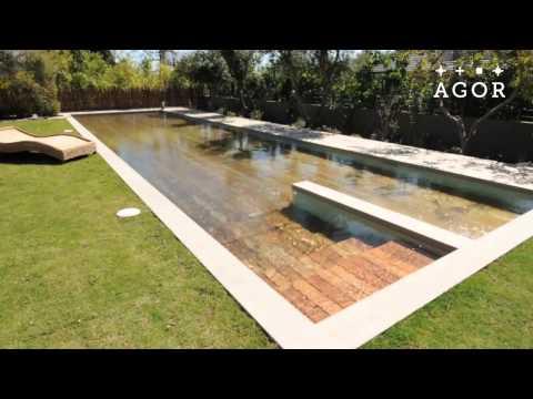 Der versteckte Pool im Garten!