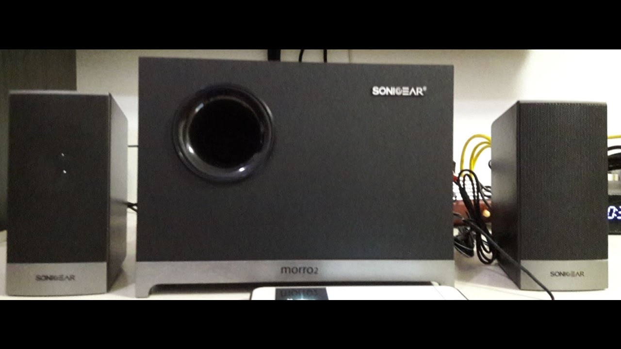 Sonic Gear Morro 2 Unboxing Review Youtube Speaker Quatro