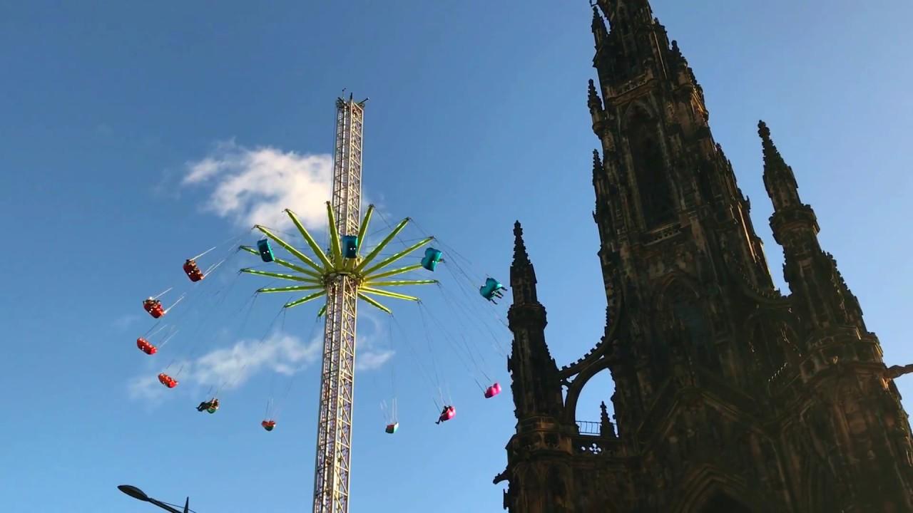 PATRIOT24 TRAVEL: Mega karuzela ponad dachami stolicy Szkocji – Edynburga!