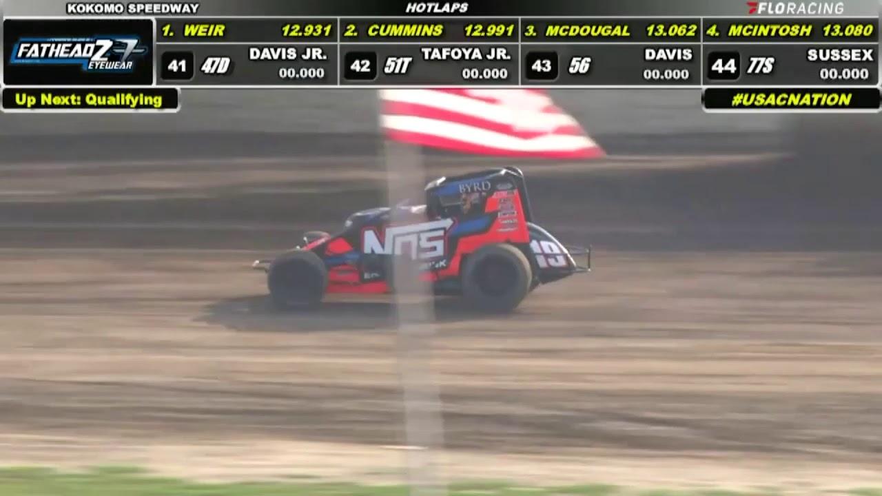 LIVE Hot Laps: USAC Indiana Sprint Week at Kokomo Speedway