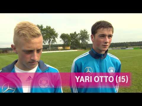 Zu Gast bei den DFB-Junioren