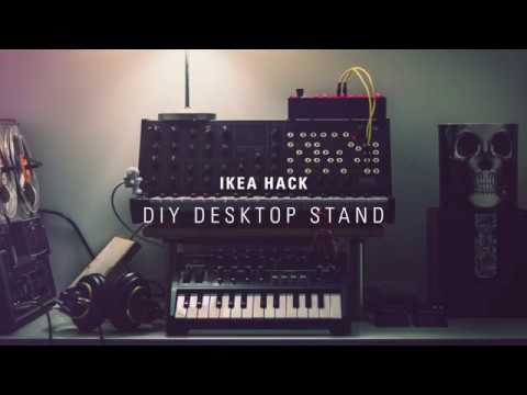 DIY IKEA Desktop Stand