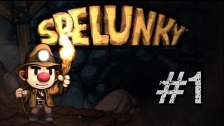 Let's Play Spelunky HD Remake (PC Gameplay/Walkthrough) Episode 1 - GOLDEN MONKEY!