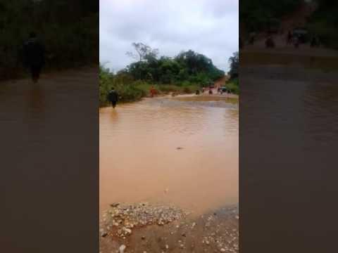 Amansie West DCE Repairs Bad Roads