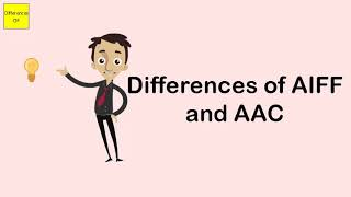 Differences of AIFF and AAC