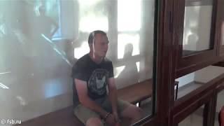 Допрос задержанного украинского диверсанта
