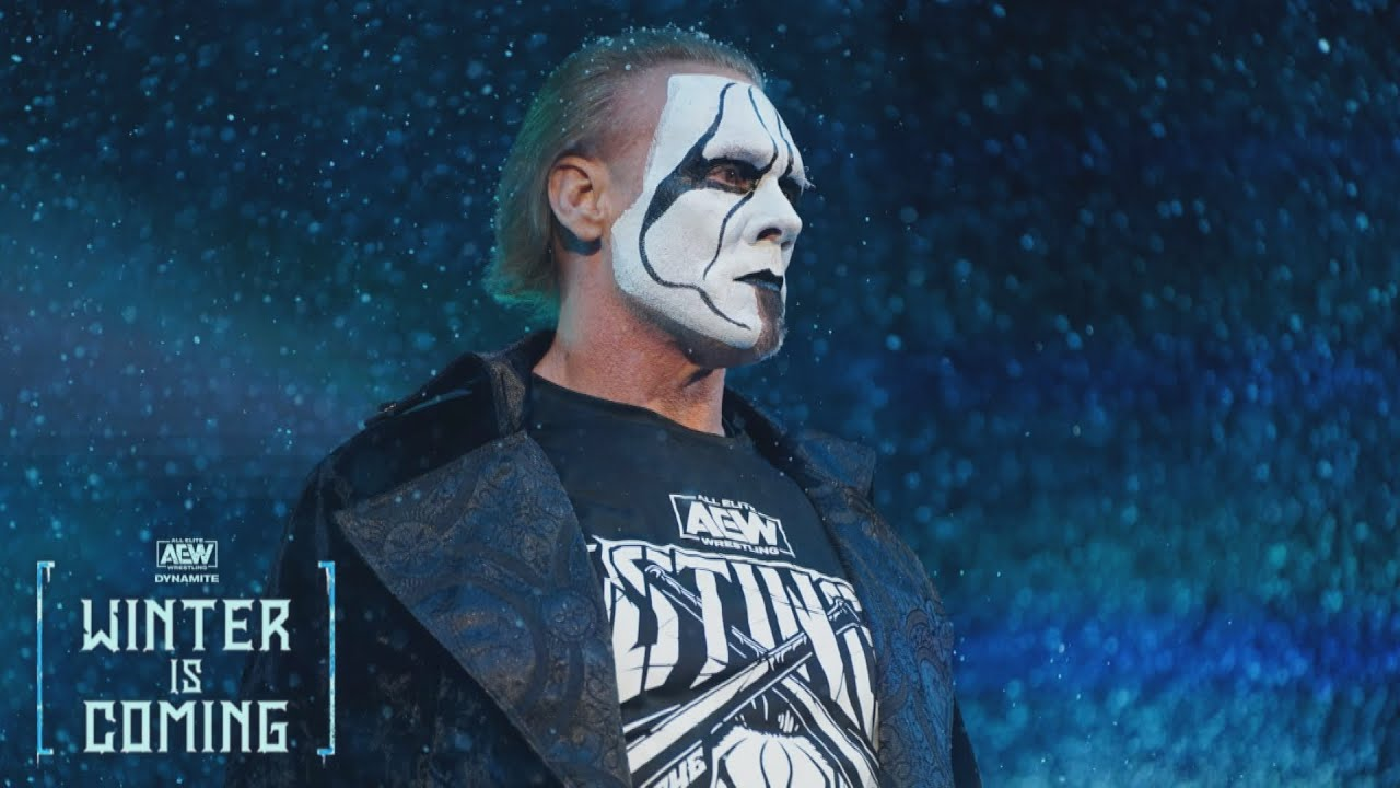 Sting Takes Powerbomb On AEW Dynamite