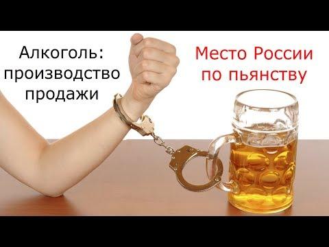 Алкоголизм отступает. Производство алкоголя падает