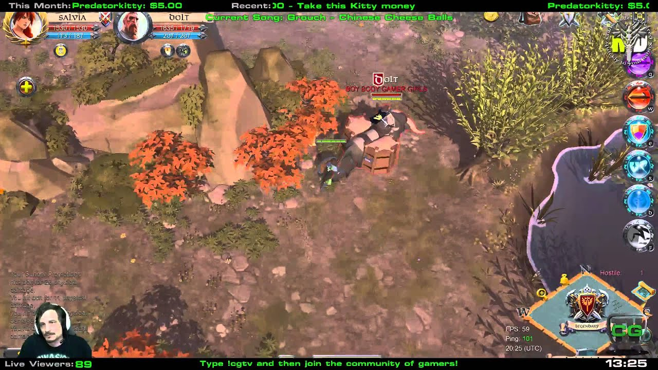 Glaive Build Albion Online