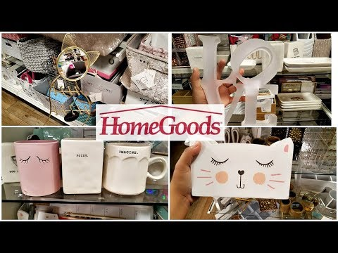 HOMEGOODS SHOP WITH ME OFFICE DECOR DESK IDEAS WALK THROUGH 2018