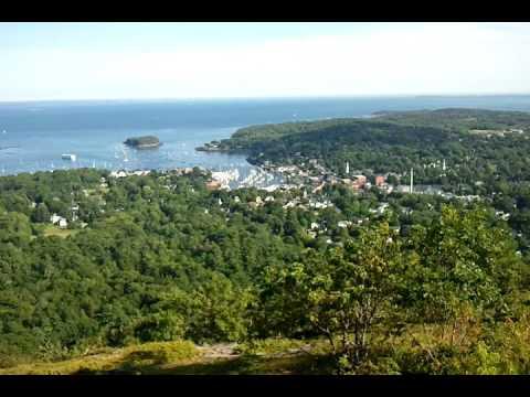 Camden, Maine view from Mount Battie