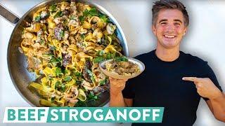 RECIPE: Beef Stroganoff! Dinner at Breakfast Time!?