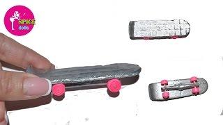 как сделать скейт для кукол монстер хай