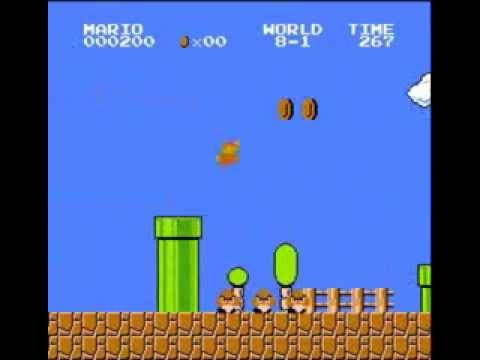 How to beat Super Mario Bros. with the lowest score possible
