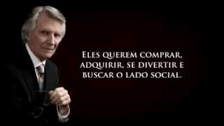 David Wilkerson- Apostate Churches. Wake Up! Going To Church Will Not Save You (With Words In Portug