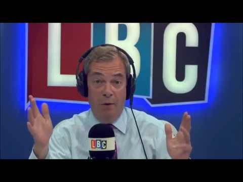 Nigel Farage Discusses UKIP's General Election Manifesto