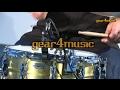 Yamaha DT50K Single Piezo Acoustic Drum Triggers Demo