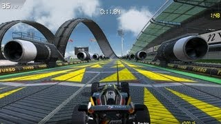 TrackMania Android game play