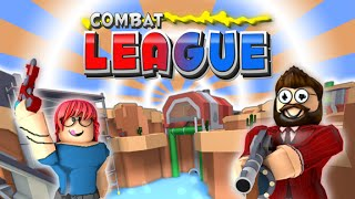 ROBLOX: Combat League | NEW RAYGUN UPDATE!