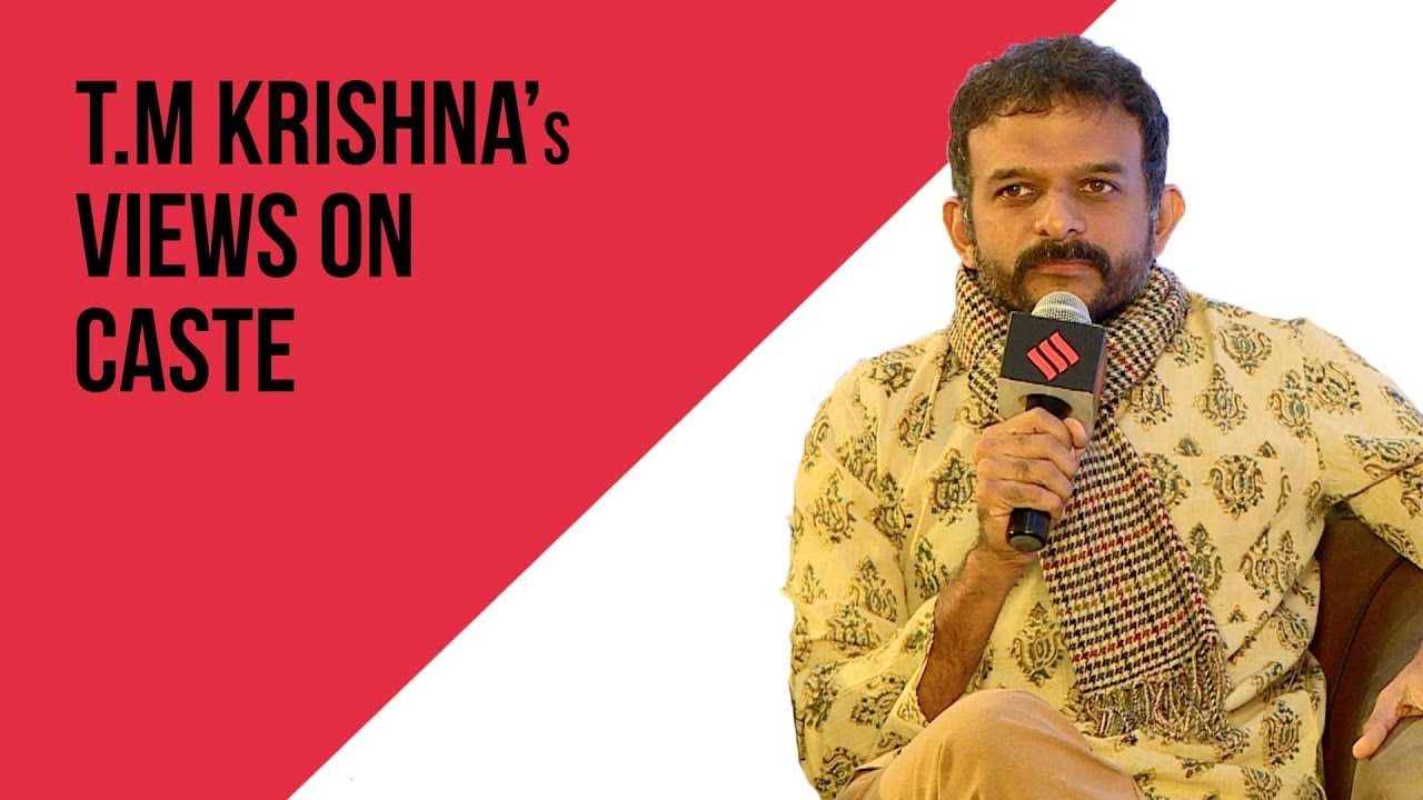 As I Immersed Myself Into Art, Questions Of History Started Troubling Me: Musician T.M Krishna