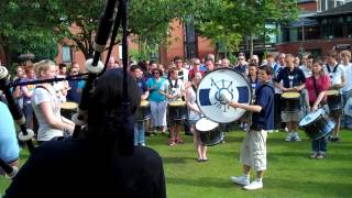 Inveraray & District Pipe Band - Lord Todd Practice, Worlds 2012