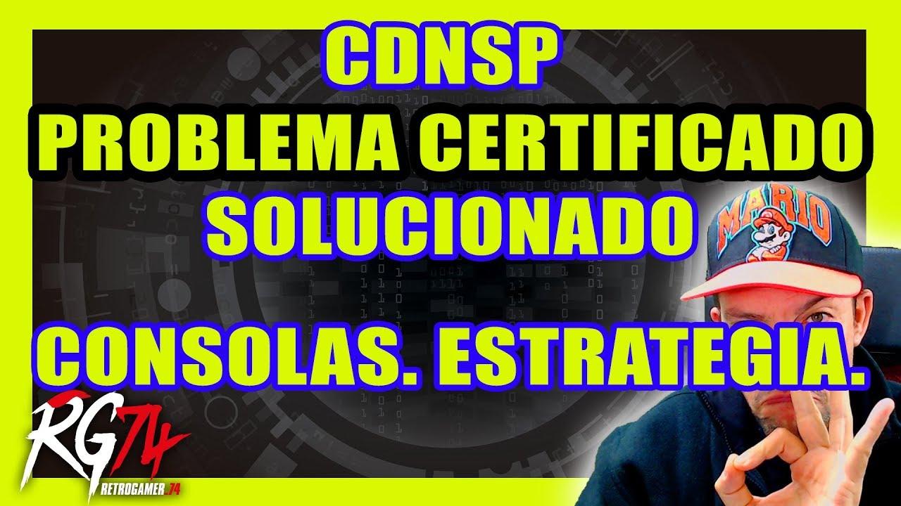 Solución al problema del CDNSP  JsonErrorDecode  - R4S Dongle - Consolas  Estrategia Venta