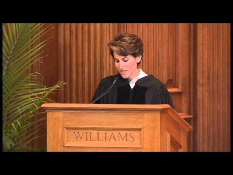 Stacy Schiff '82, William's College Baccalaureate 2013