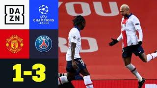 PSG-Schreck Rashford reicht nicht: Man United - Paris 1:3 | UEFA Champions League