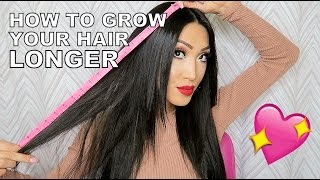 How To Grow Your Hair Faster And Longer!