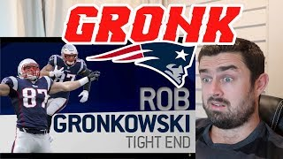 "Rugby Fan Reacts to ROB GRONKOWSKI ""GRONK"" NFL Legend Career Highlights!"