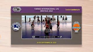 U16M - CB SAN ISIDRO vs VALENCIA BASKET.- Torneo Internacional Cadete Villa de La Orotava 2021