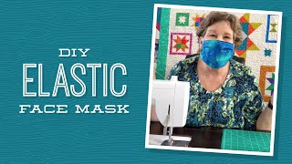 How to make an easy face mask that's washable and reusable with spare fabric