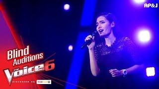 เจนจ๋า - น้ำตาฟ้า - Blind Auditions - The Voice Thailand 6 - 10 Dec 2017