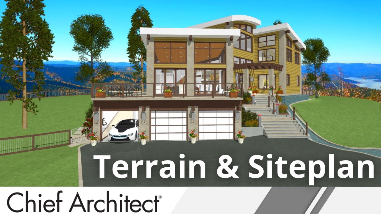 7-1 Terrain & Siteplan Part 1 – Breckenridge Home Design - YouTube